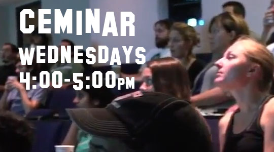 CEMINAR: 2nd Wednesday of the Month